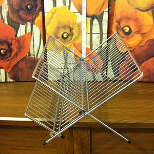 Other - Chrome-plated steel foldable 2 tier Dish drainer